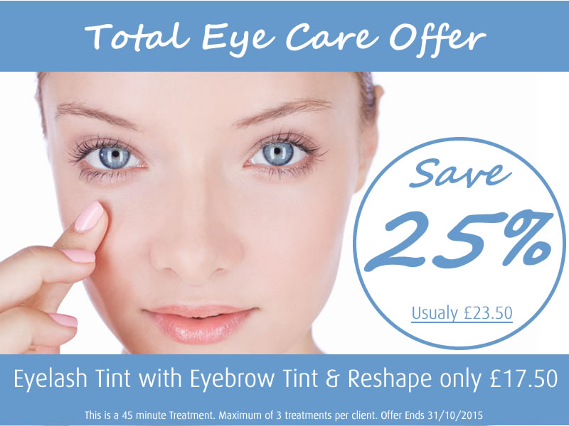 September 2015 Offer Total Eye Care