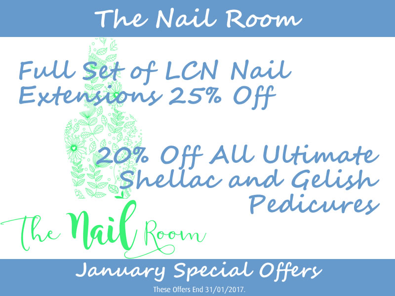 January 2017 Nail Room Offers