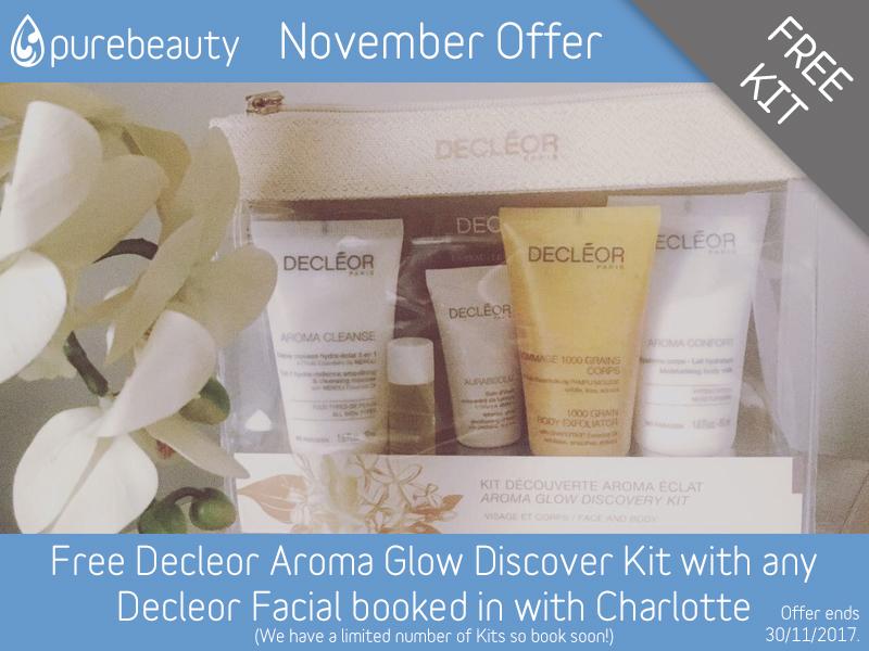 November 2017 Decleor Facial Offer