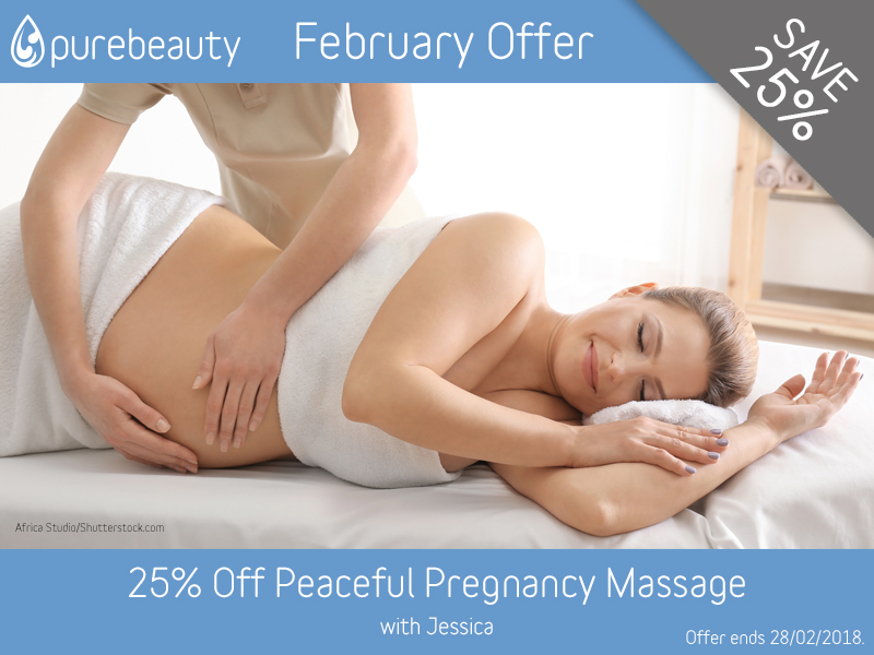 February 2018 Pregnancy Massage Offer