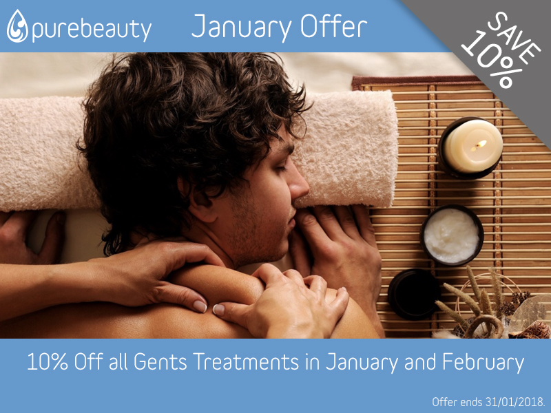 January 2018 Gents Treatments Offer