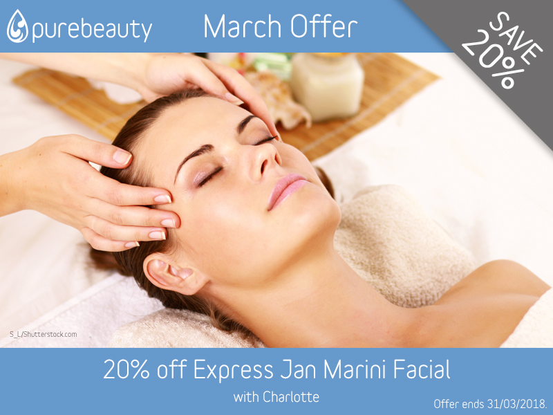 March 2018 Express Jan Marini Facial Offer