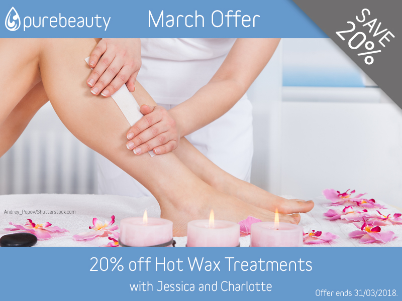 March 2018 Hot Wax Offer