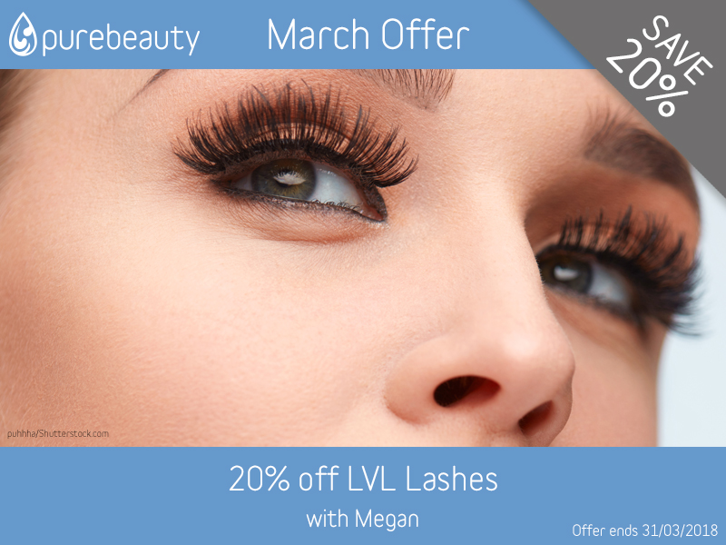 March 2018 LVL Lashes Offer