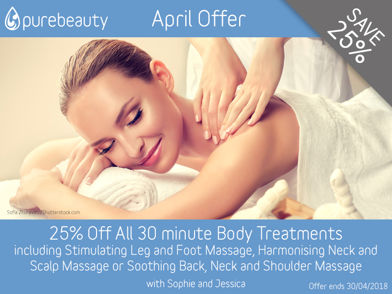 April 2018 Body Treatment Offer