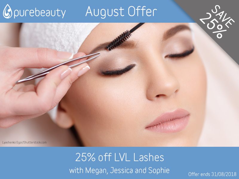 August 2018 LVL Lashes Offer
