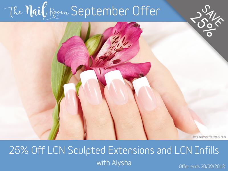 September 2018 LCN Offer at Pure Beauty Lichfield