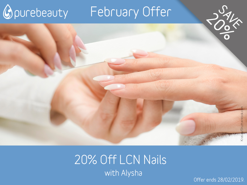 February 2019 LCN Offer at Pure Beauty Lichfield