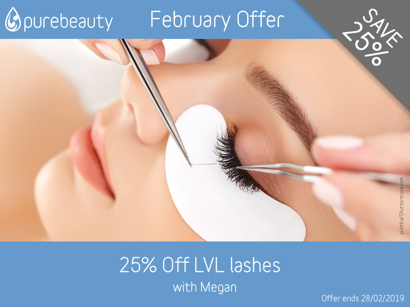 February 2019 LVL Lashes Offer