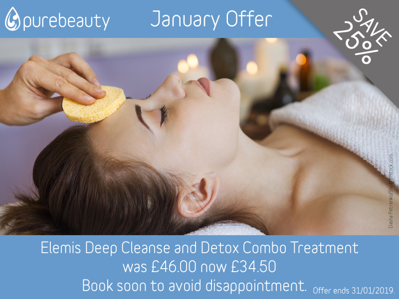 January 2019 Elemis Deep Cleanse and Detox Combo Offer
