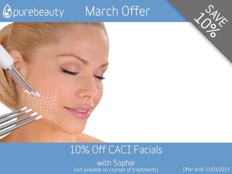 March 2019 CACI Facials Offer