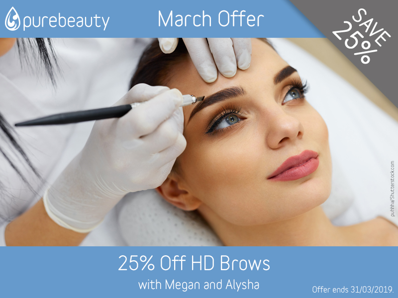 March 2019 HD Brows Offer
