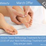 March 2019 Reflexology Offer
