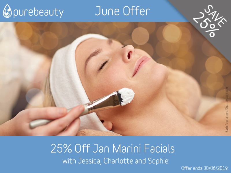 June 2019 Jan Marini Facials Offer at Pure Beauty Lichfield