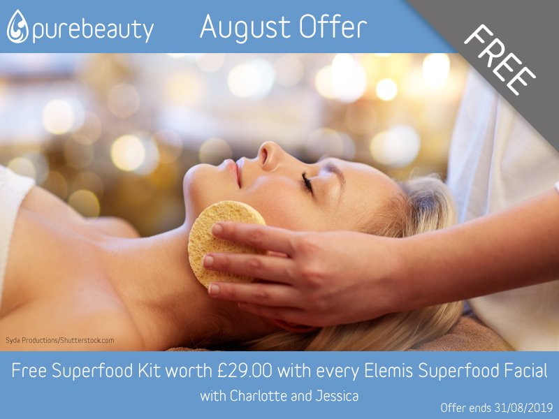 August 2019 Free Elemis Kit With Elemis Facial Offer
