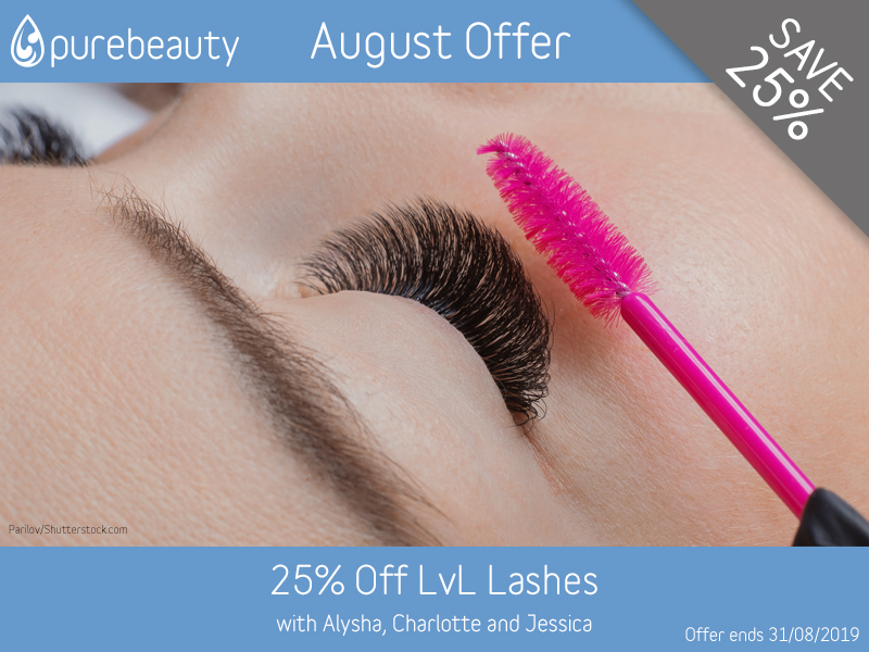 August 2019 LVL Lashes Offer