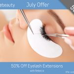July 2019 Eyelash Extensions Offer