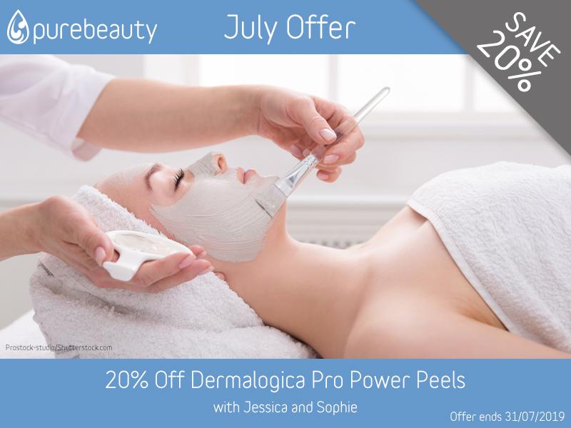 July 2019 Dermalogica Pro Power Peels Offer at Pure Beauty Lichfield