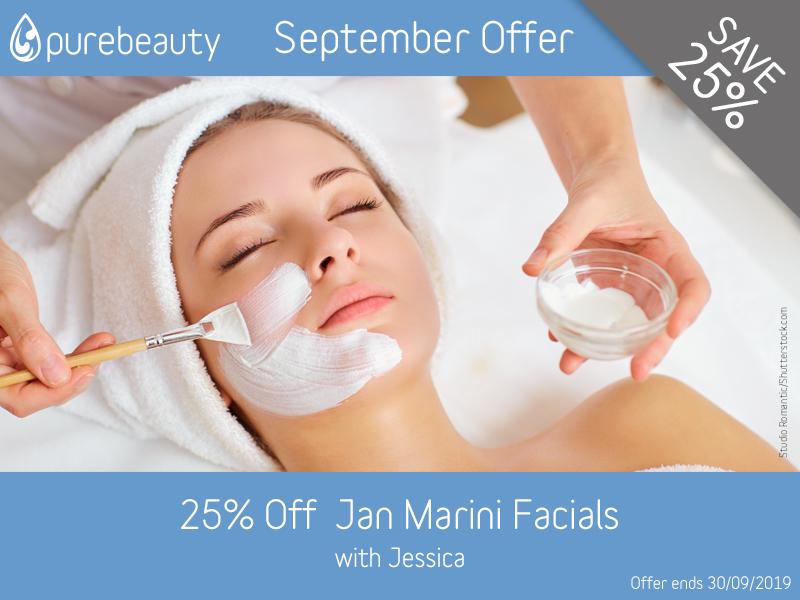 September 2019 Jan Marini Facials Offer
