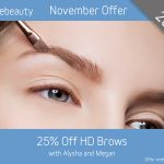 November 2019 HD Brows Offer