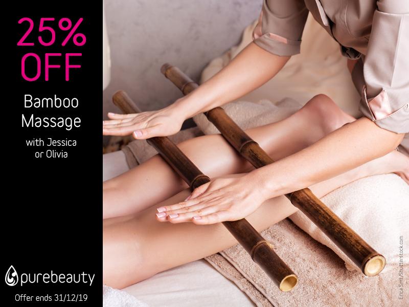 December 2019 Bamboo Massage Offer