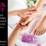 January 2020 Gelish and Shellac Manicure and Pedicures Offer