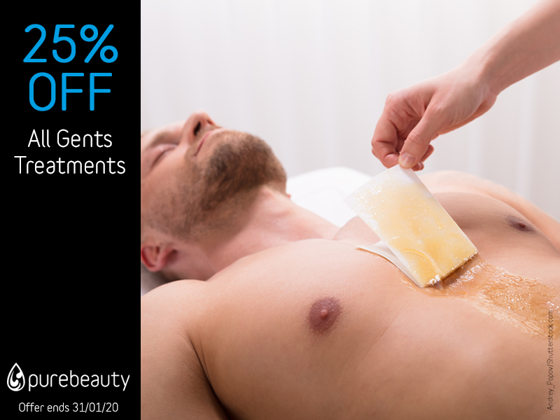 January 2020 Gents Treatments Offer