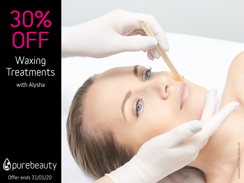 January 2020 Waxing Offer