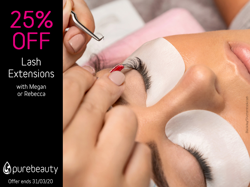 March 2020 Lash Extensions Offer