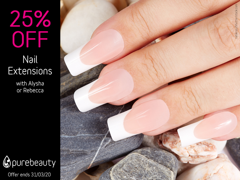 March 2020 Nail Extensions Offer