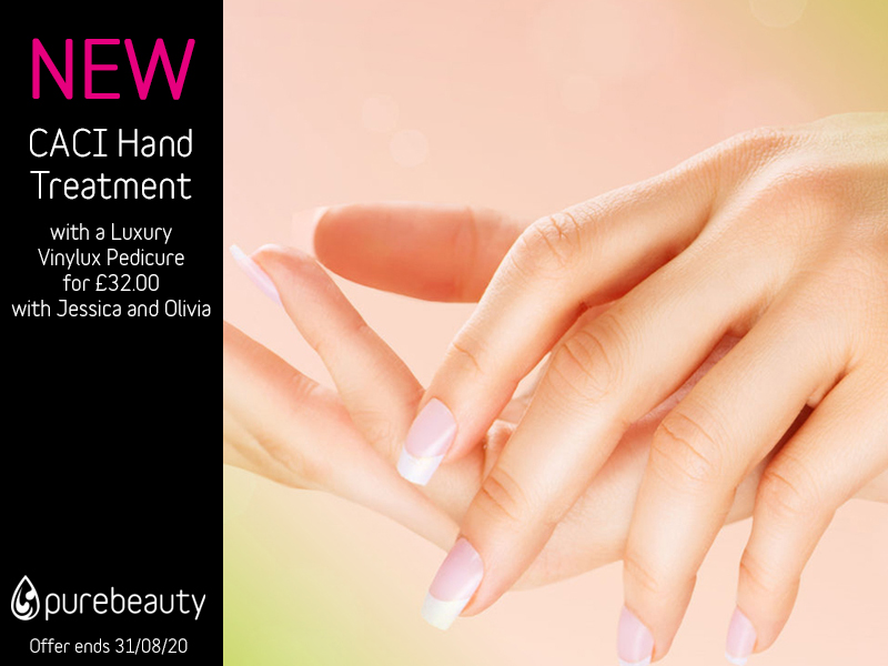 August 2020 CACI Hand Treatment Offer