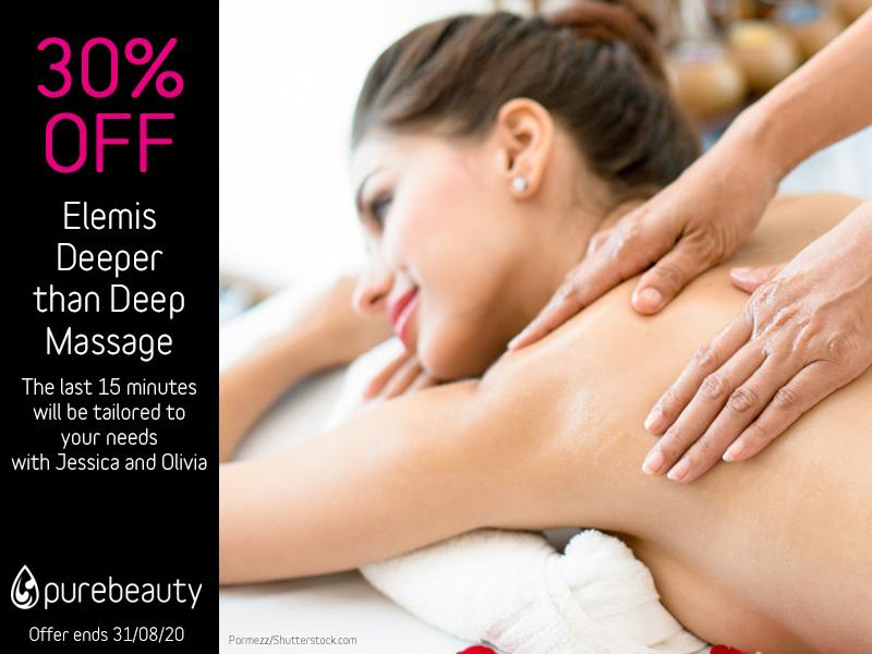 August 2020 Elemis Deeper Than Deep Massage Offer