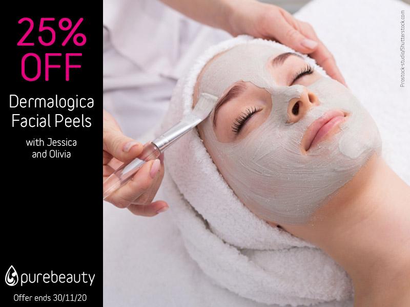 November 2020 Dermalogica Facial Peels Offer