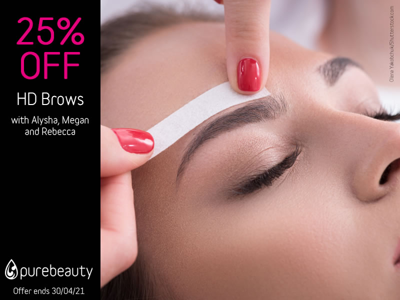April 2021 HD Brows Offer