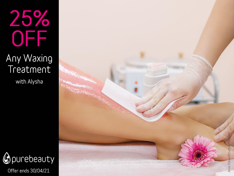 April 2021 Waxing Offer