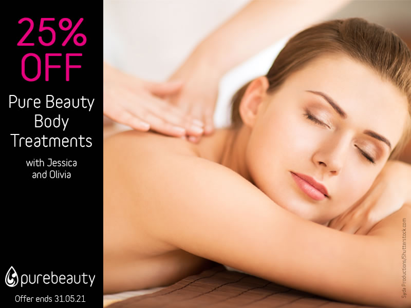 May 2021 Body Treatments Offer
