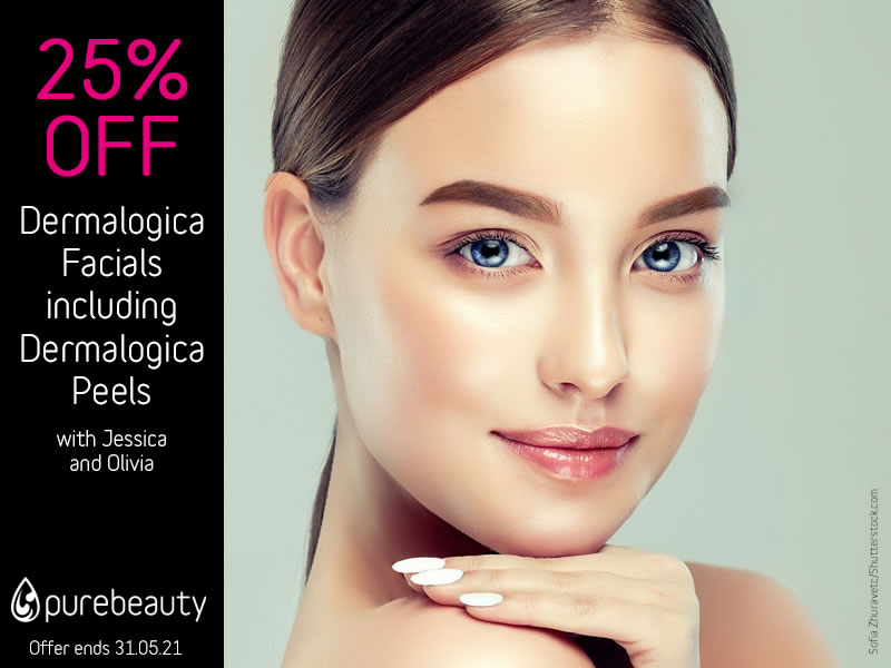 May 2021 Dermalogica Facials and Peels Offer