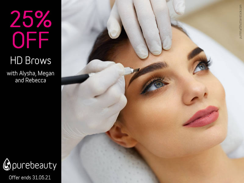 May 2021 HD Brows Offer