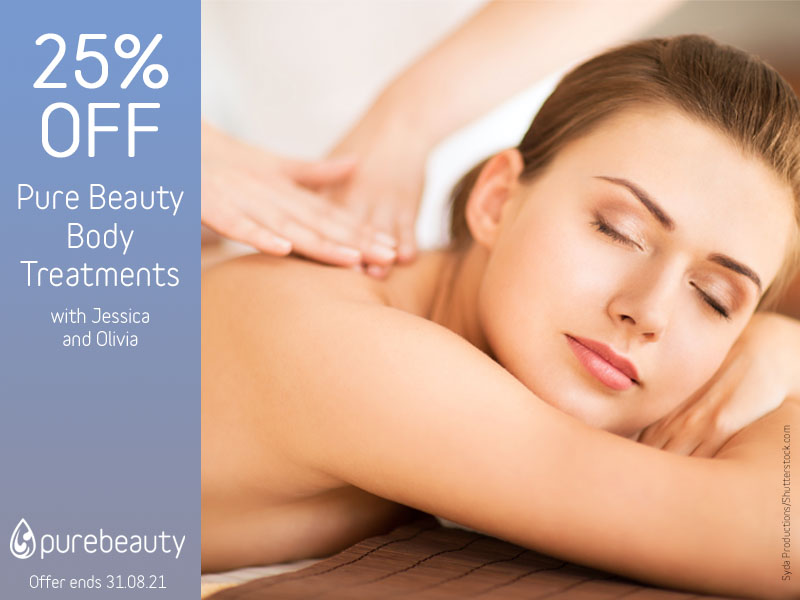 August 2021 Body Treatments Offer