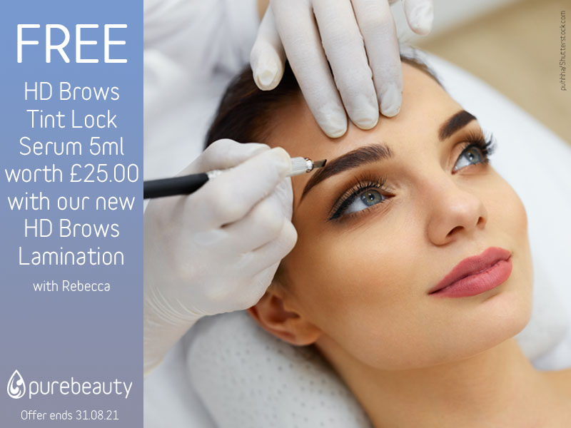 August 2021 HD Brows Offer