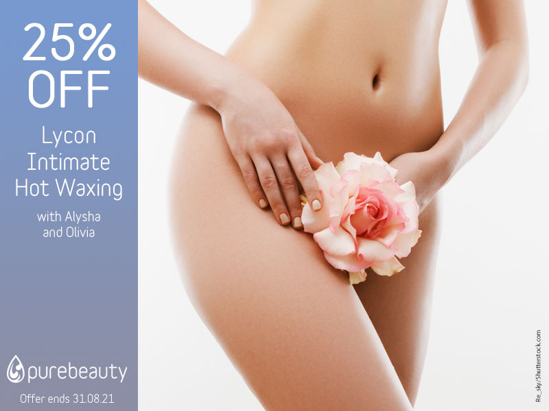 August 2021 Intimate Waxing Offer