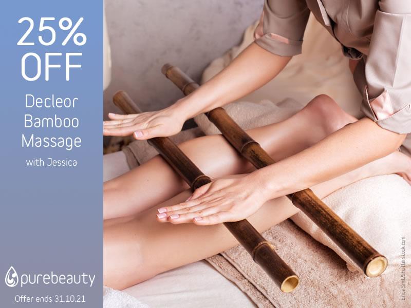 October 2021 Decleor Bamboo Massage Offer
