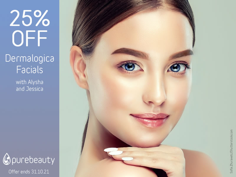 October 2021 Dermalogica Facials Offer