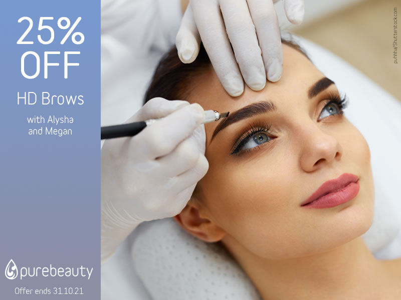 October 2021 HD Brows Offer