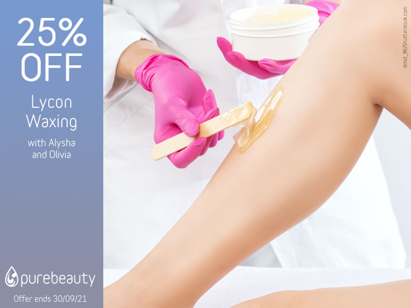 September 2021 Lycon Waxing Offer