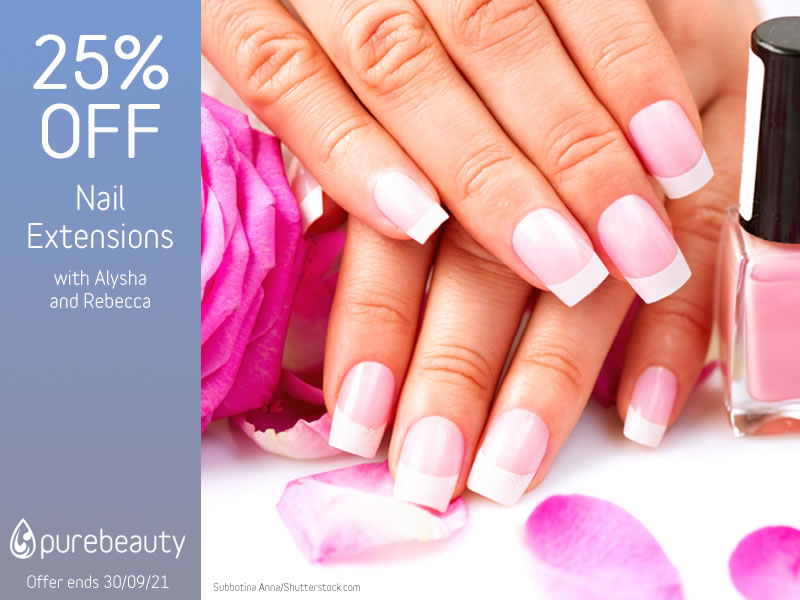 September 2021 Nail Extensions Offer